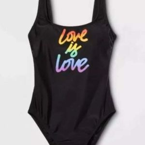 Other - Love is Love One Piece Swimsuit